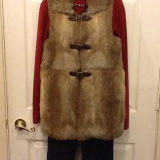 Fur coat too much? Try a vest!