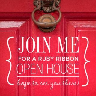 Please Join Us, Ruby Ribbon Open House!