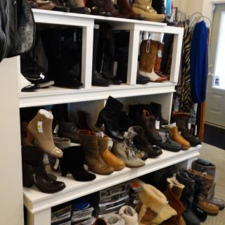 A Fabulous Selection of Boots and Scarves.