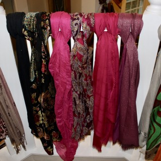 Scarves, Scarves and More Scarves!